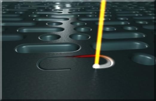 Se aplica el láser en metrología dimensional, obteniéndose precisiones superiores a 10-7 mm.