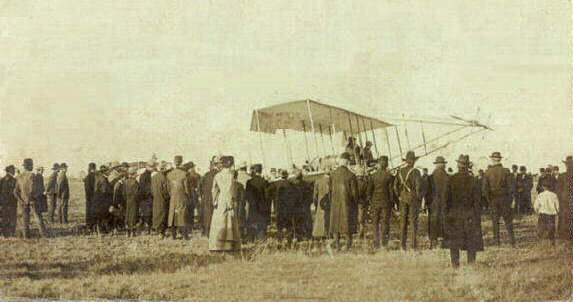 March 2, 1910- Military Air Flight