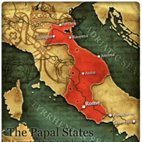Birth of the Papal states