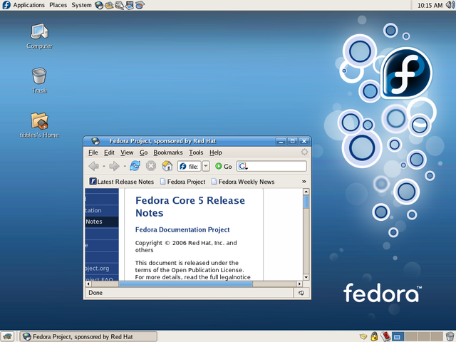 Fedora Core5