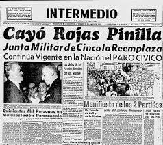 Rojas Pinilla renunció