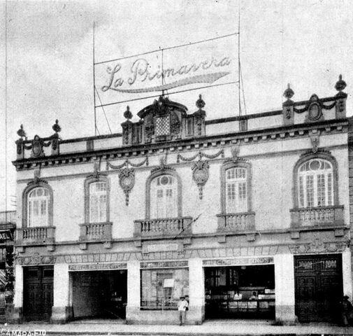 """La panadería Primavera y """"La Morisca"""""""