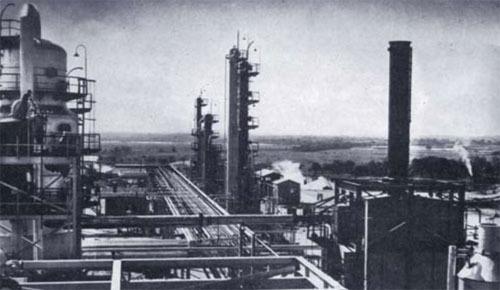 Baja producción petrolera