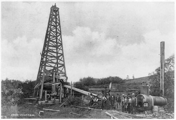 1920 Exportación de petróleo
