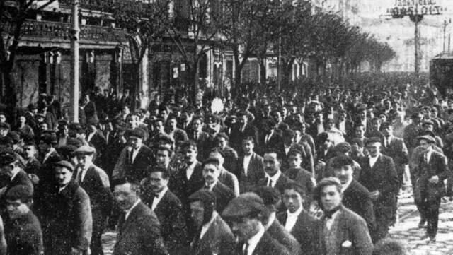 La Huelga del 13 de Mayo de 1928