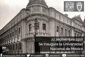 Se fundo Universidad Nacional de México
