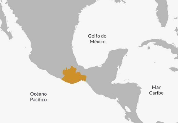 Ubicación Zapotecos