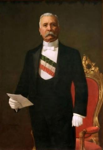 Porfirio Díaz asume el poder