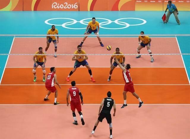se une el voleibol a los juegos olimpicos