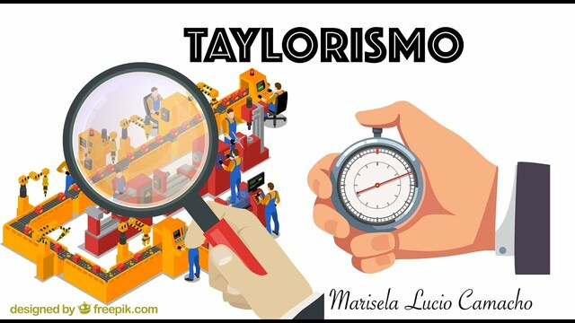 Finales del siglo XIX/Taylorismo.