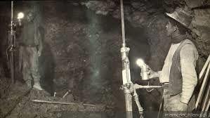 Caída en el sector minero.
