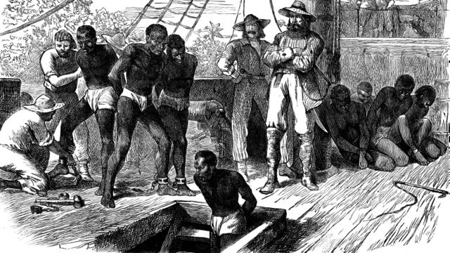 Erste afrikanische Sklaven erreichen Jamestown