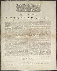 Proklamation von 1763
