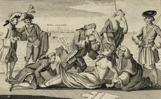 Zwangsakte (Coercive Acts)/ Unerträgliche Gesetze (Intolerable Acts)