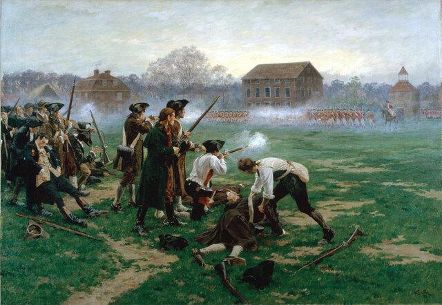 Gefechte von Lexington und Concord