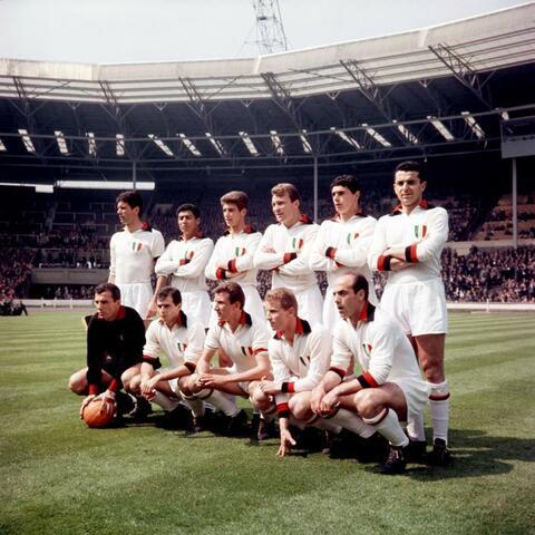 Il Milan è la prima squadra italiana a vincere la Coppa dei Campioni a Londra