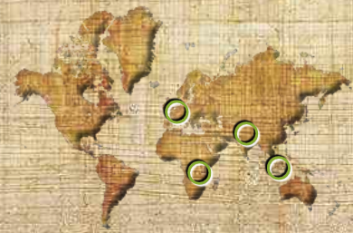 Homo erectus (Localització)