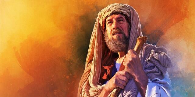 Abraham y Sara y la promesa de Dios.