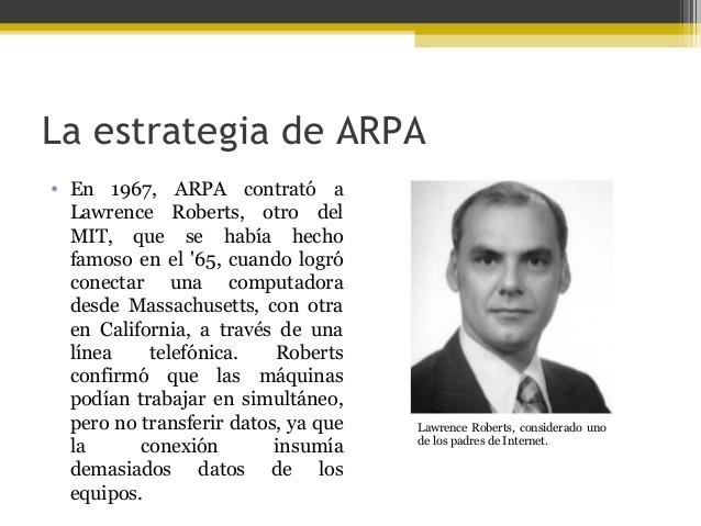 Red ARPA, ancestro de la red Internet pública