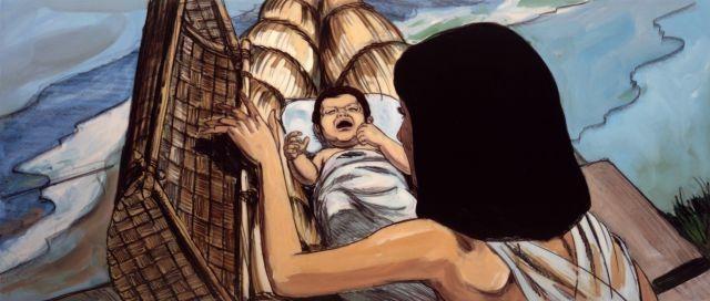 Bebé Moisés.