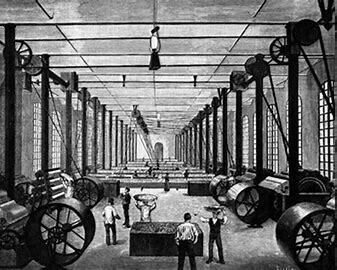 La revolución industrial en España.