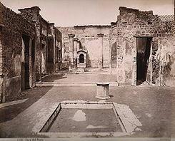 Casa del poeta trágico de Pompeya (Vladimir Janovic)