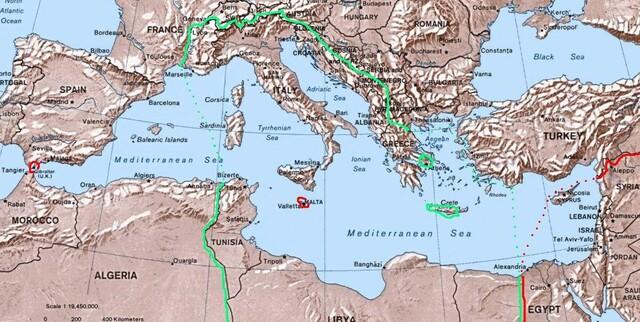 L'invasione del Mediterraneo