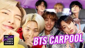 BTS Carpool Caraoke