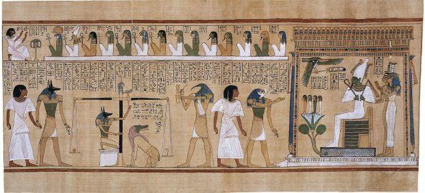 Libro de los muertos (Antiguo Egipto).