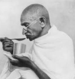 Gandhi had his fast