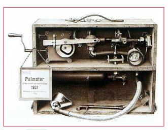 1907 - Dräger (Pulmotor)