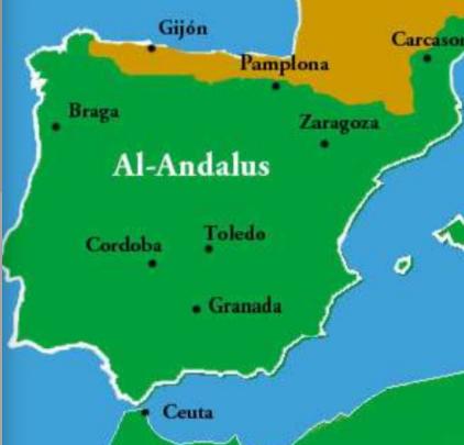 AL ANDALUS ETA HISPANIA