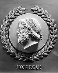Leyes de Licurgo, rey de Esparta (Grecia).