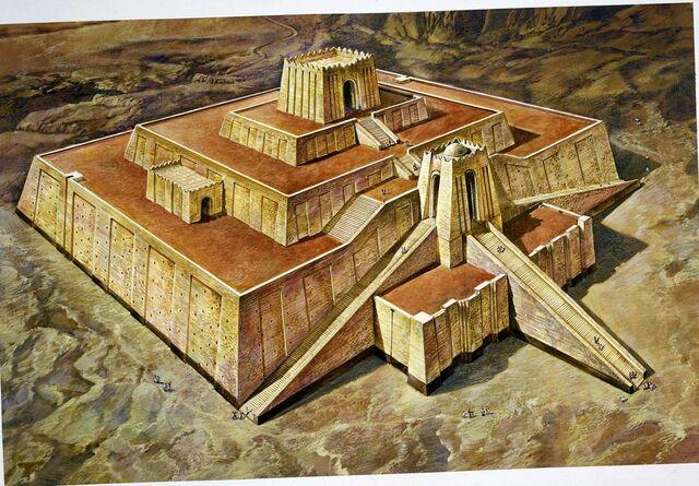 Mesopotamia. Arquitectura. Zigurat