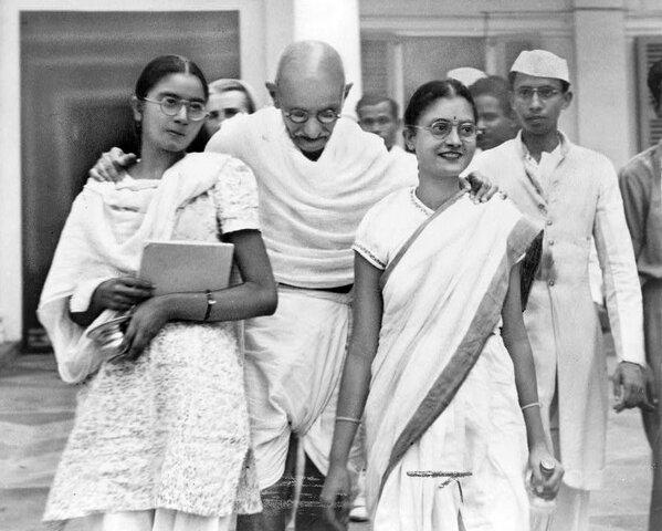 Gandhi enters law school