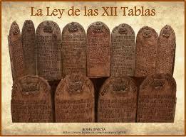 Ley de las Doce Tablas (Roma).