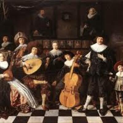 The Baroque (1600-1730) timeline