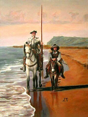 """Publicación de """"El ingenioso hidalgo don Quijote de la Mancha"""""""