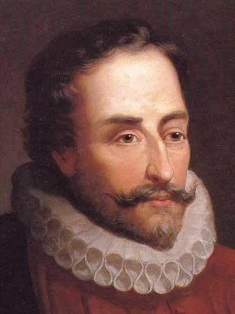 Su mujer y su hermana ingresan en la Orden Tercera y muerte de Andrea de Cervantes