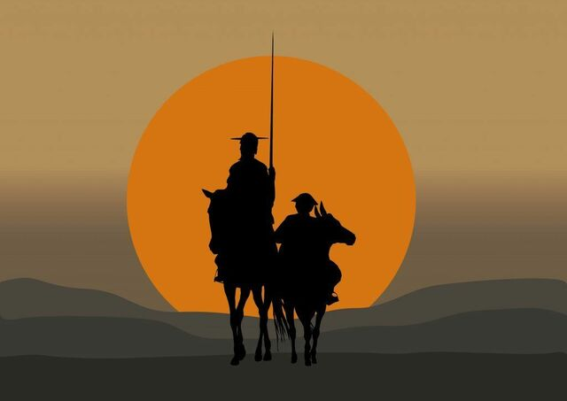Publicación de la Segunda parte del ingenioso caballero don Quijote de la Mancha