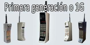 Primera Generación(1G)
