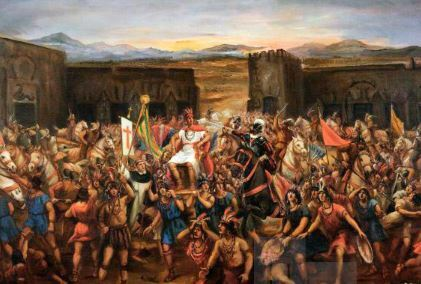 Fin del postclásico y llegada de los españoles