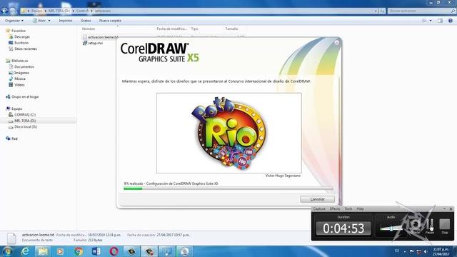 Corel Draw versión 5