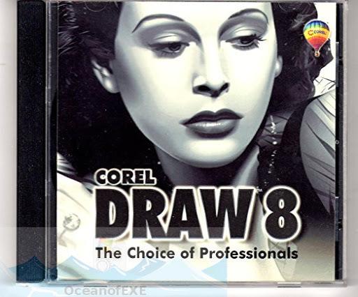 Corel Draw versión 8