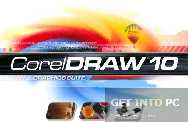 Corel Draw versión 10