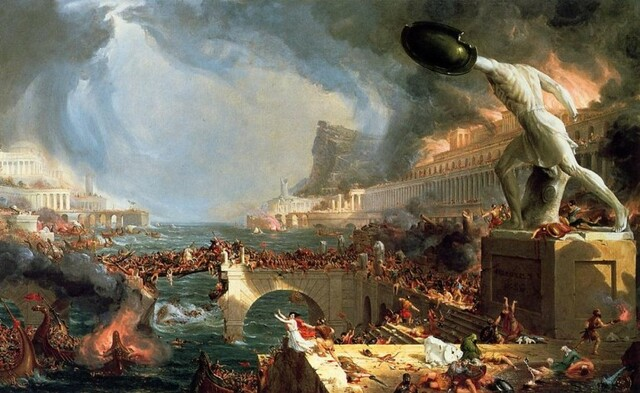 Fin del Imperio Romano de Occidente