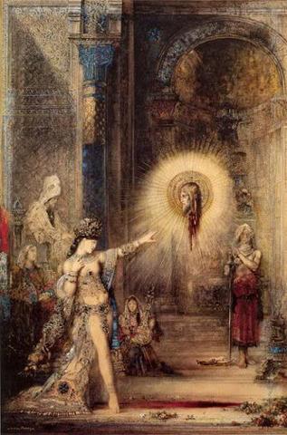 La Aparición, Gustave Moreau