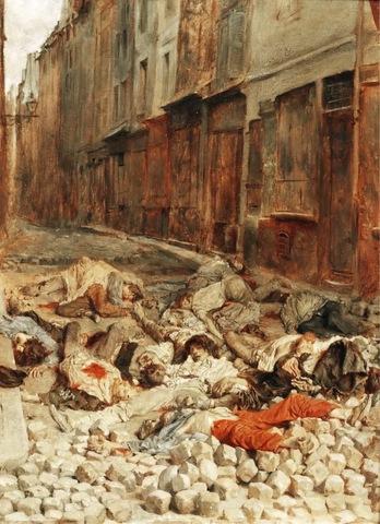 La Barricada, Ernest Meissonier