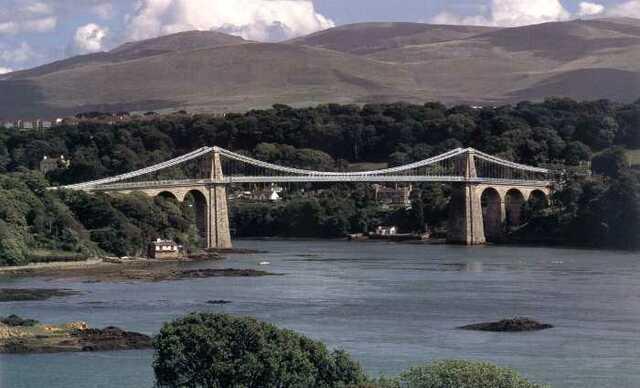 Puente Colgante Manei, Telford