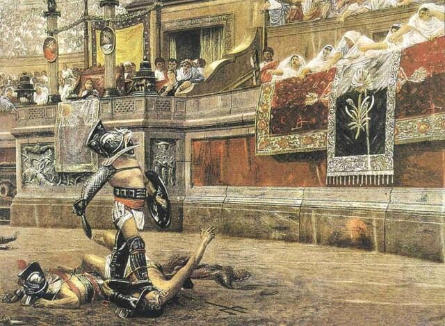 Abolición de los Combates de Gladiadores